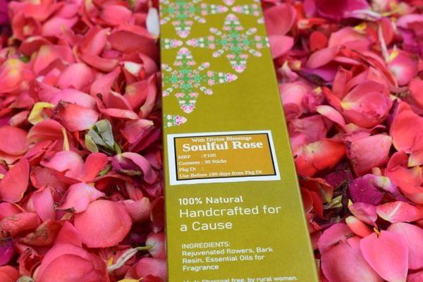 Soulful Rose Vimoksh Incense Sticks HolyWaste