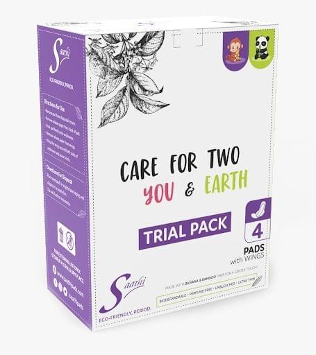 Saathi Banana Trial Box-Pack of 4