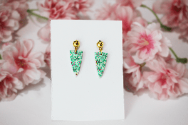 Green Medow Earring