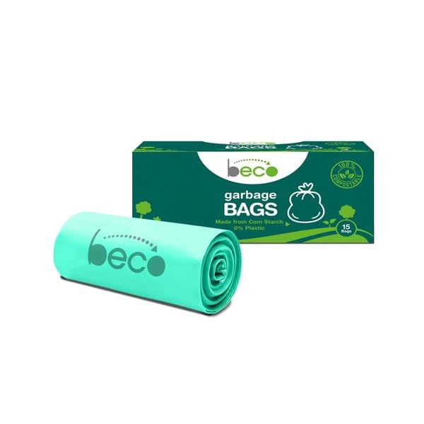Compostable Small Garbage Bags 15 Pieces - Pack of 3