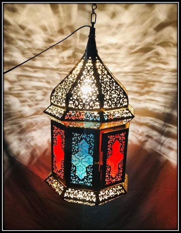 Temple Style Moroccan Lantern