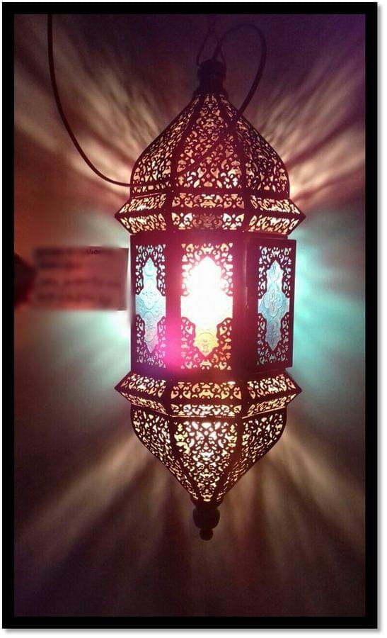 Enclosed Hanging Lamp