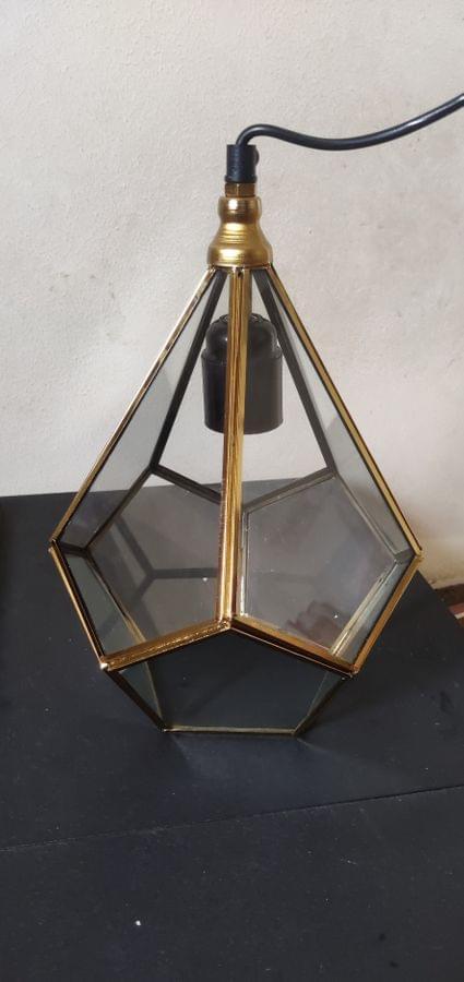 Dimond Glass Light