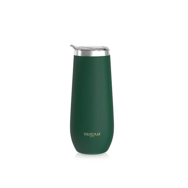 Caper Dark Green Stainless Steel Tumbler - 270 ml