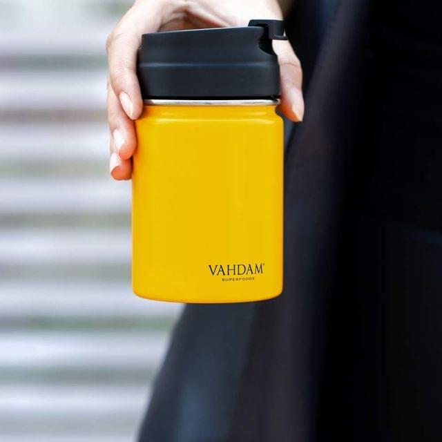 Vitality Yellow Flip Bottle - 260 ml