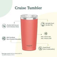 Cruise Tumbler Coral - 590 ml