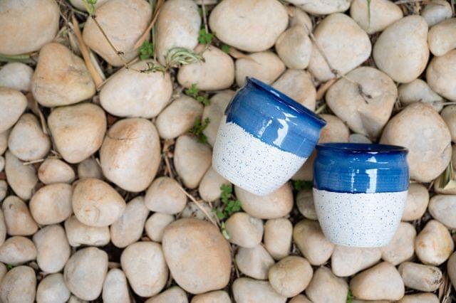 Santorini Collection Royal Kullad Set of 2 Kullads – 1 set