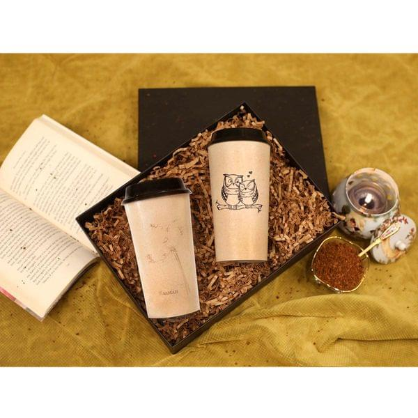 Eco Coffee-Tea Lover Gift Box